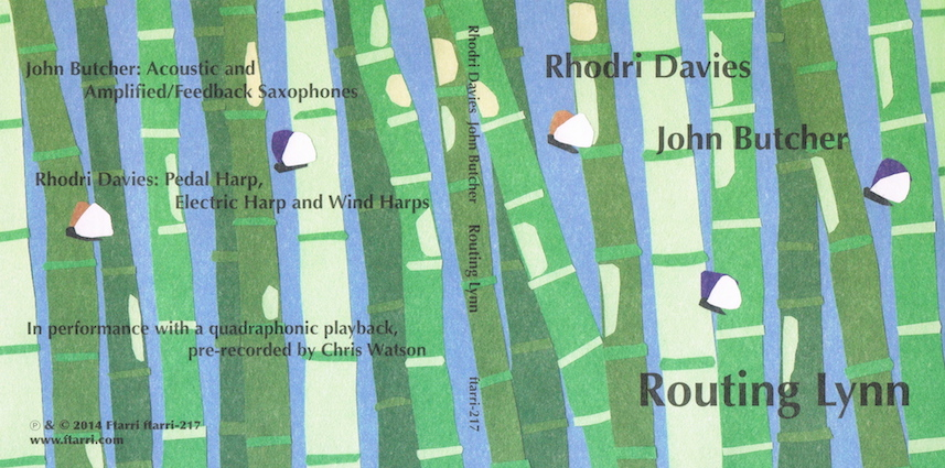 Rhodri Davies / John Butcher - Routing Lynn